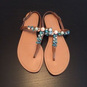 Shoe Dazzle gem sandals (10)